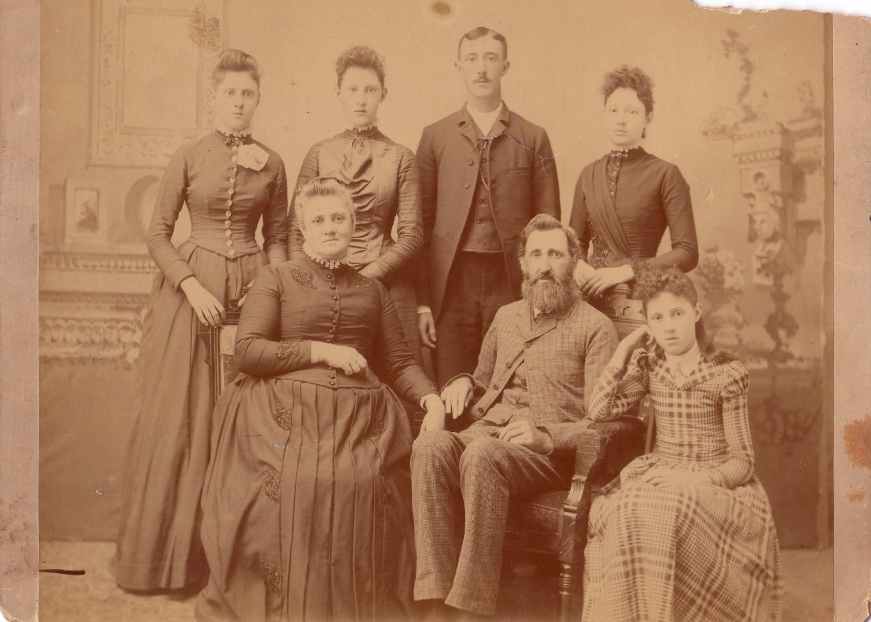 Jordan George H family