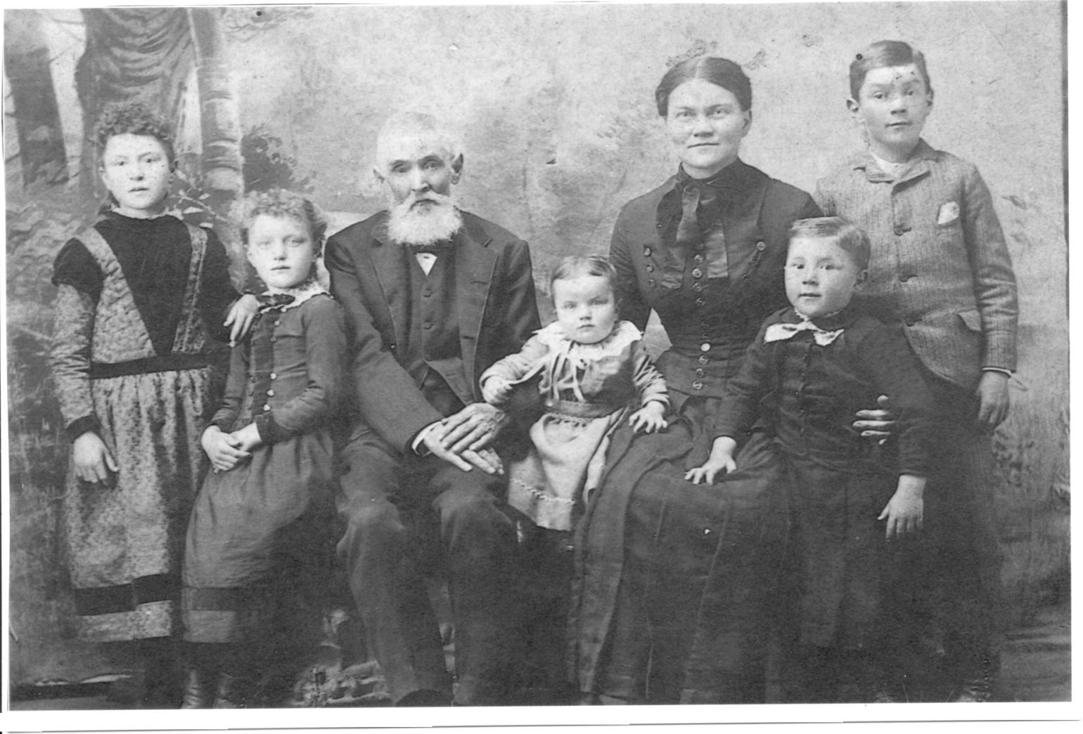 Jordan Mount Etna and family 1890